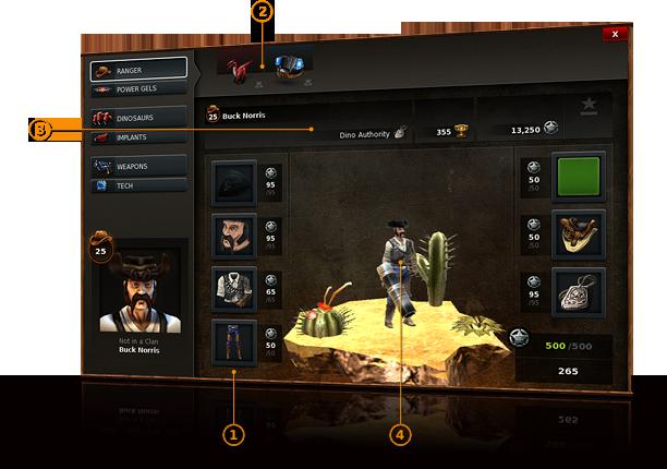 Dino Storm – Profil du Ranger