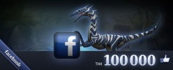 The Dino Storm page on Facebook now shows the simply incredible number of 100,000 Likes.We would like to thank you all for your support with a new free dinosaur skin art! Celebrate 100,000 Likes on […]