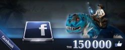 Dino Storm on Facebook has reached the amazing number of 150,000 Likes.We would like to thank you all for your ongoing support with a free bonus code full of win! Free Bonus Code on Facebook: […]