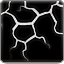 Dinosaur Skin Art – Lava White Black